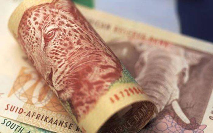 south african rands cash bribery